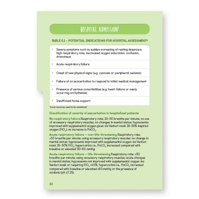 COPD Guidelines