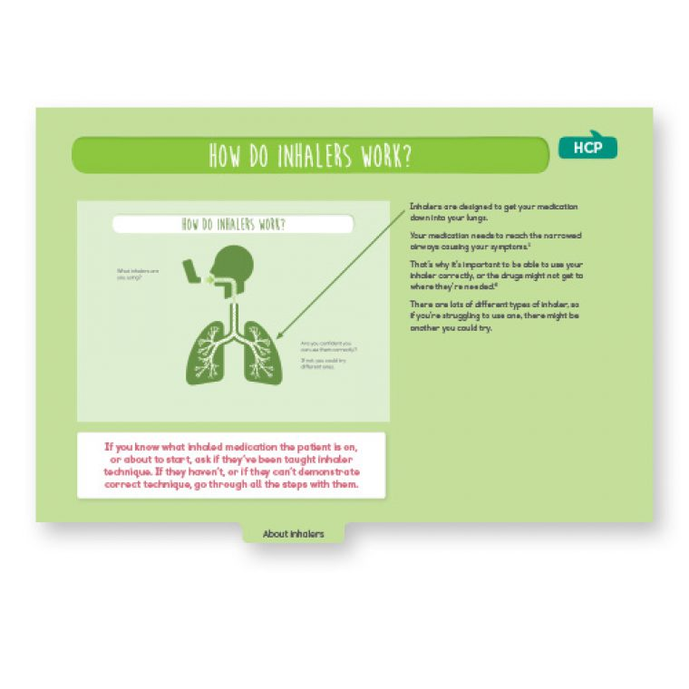 COPD consultation guide