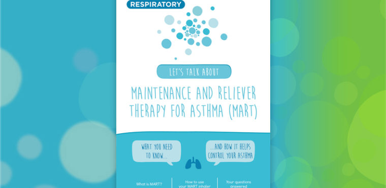 Maintenance and reliever therapy for asthma (MART)