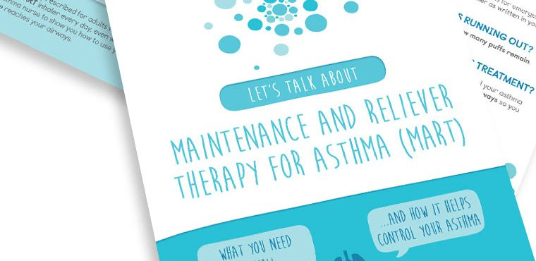 Maintenance and reliever therapy (MART)