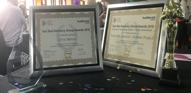 Teva takes home top awards at the Test Bed Advisory Group (TAG) event