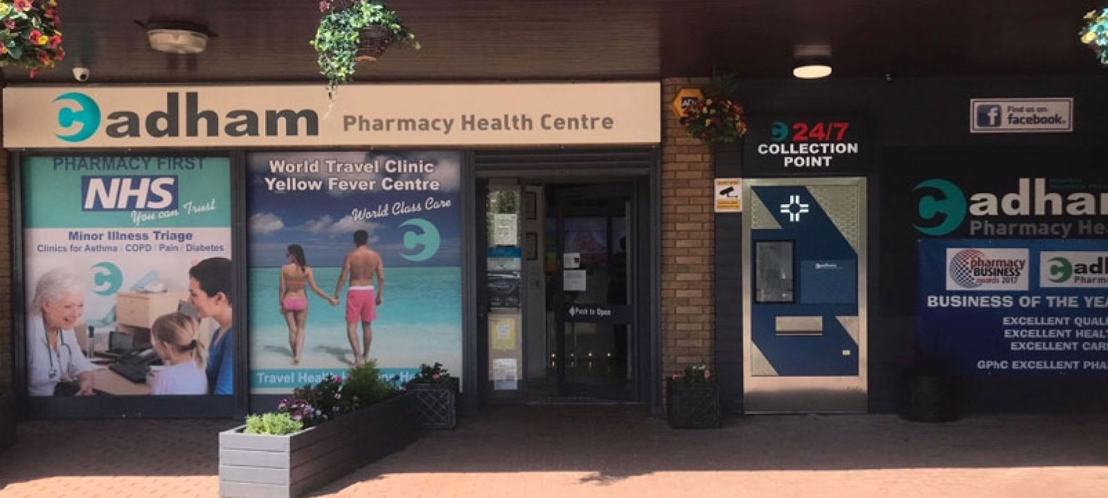Treating asthma patients in a community pharmacy