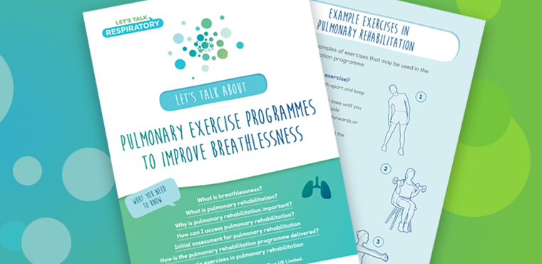 Pulmonary exercise programmes to improve breathlessness